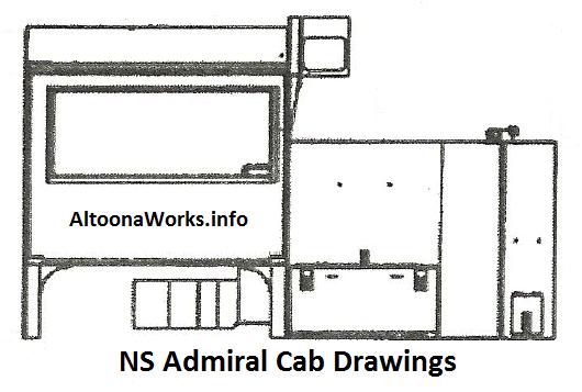 Admiral Cab Drawings!